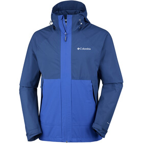 Columbia Evolution Valley Veste Homme, carbon/azul